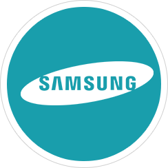 Making a handsfree call on the Samsung IP handset